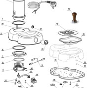 La Pavoni Domestic Diagrams