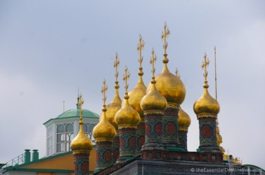 Golden domes of the Kremlin