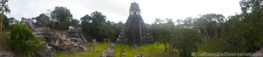 Tikal temples