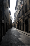 Beautiful street in Florence, Italy