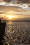 Lake Nicaragua at Sunset