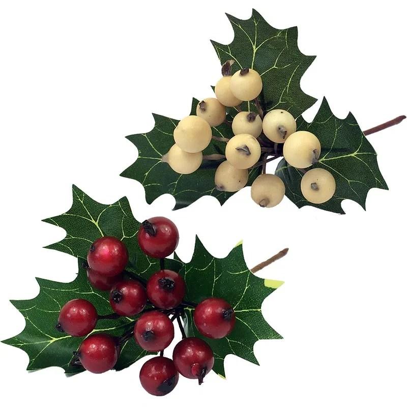 christmas berries picks decorative