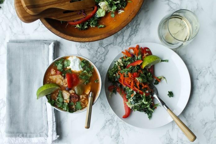 The Eternal Hostess | 30 Minute Tortilla Soup