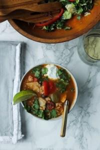 Weeknight Chicken Tortilla Soup | The Eternal Hostess |