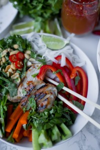 Rice Noodle Bowls | The Eternal Hostess