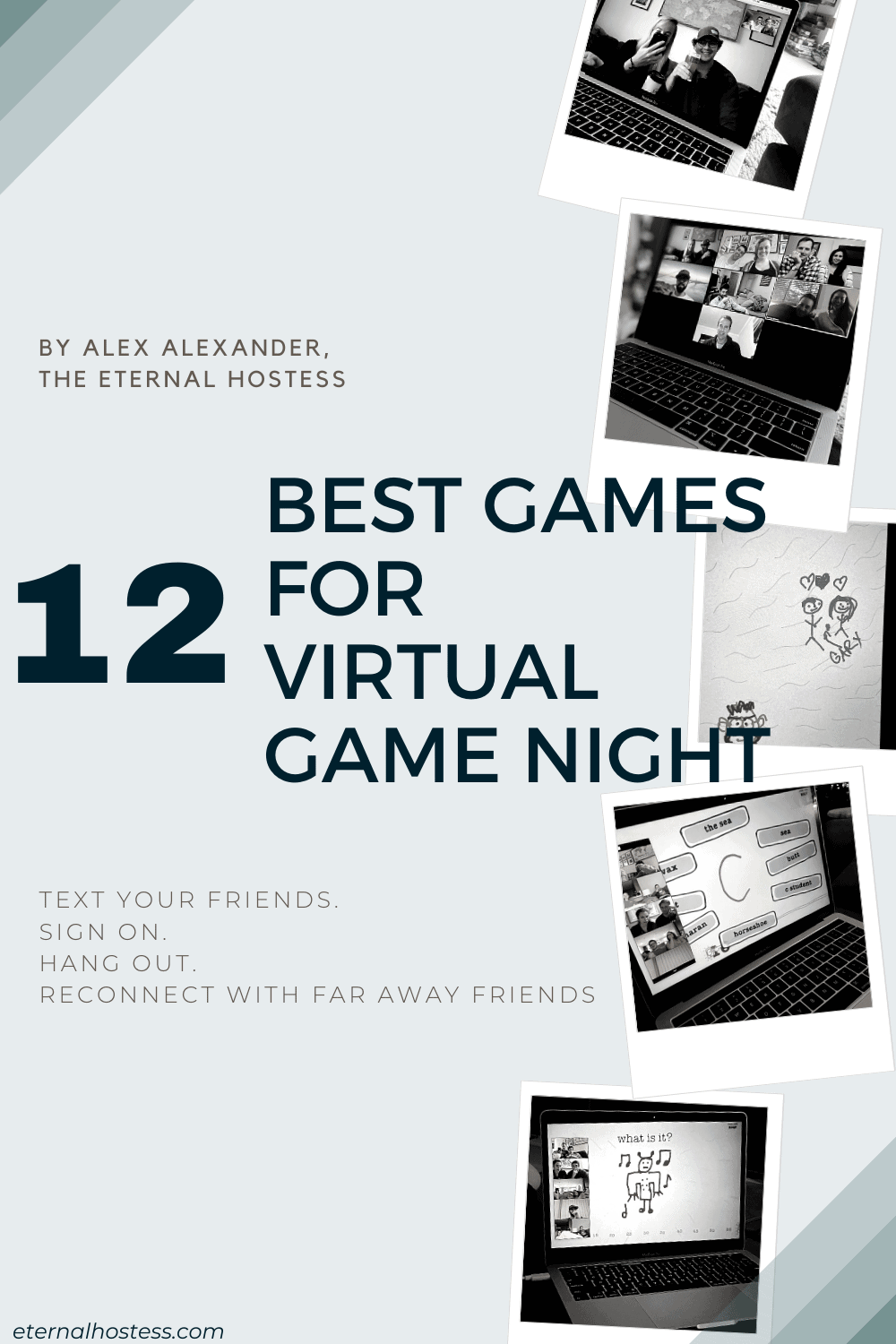 "Blog Post Header for ""12 Best Games for Virtual Game Night"""