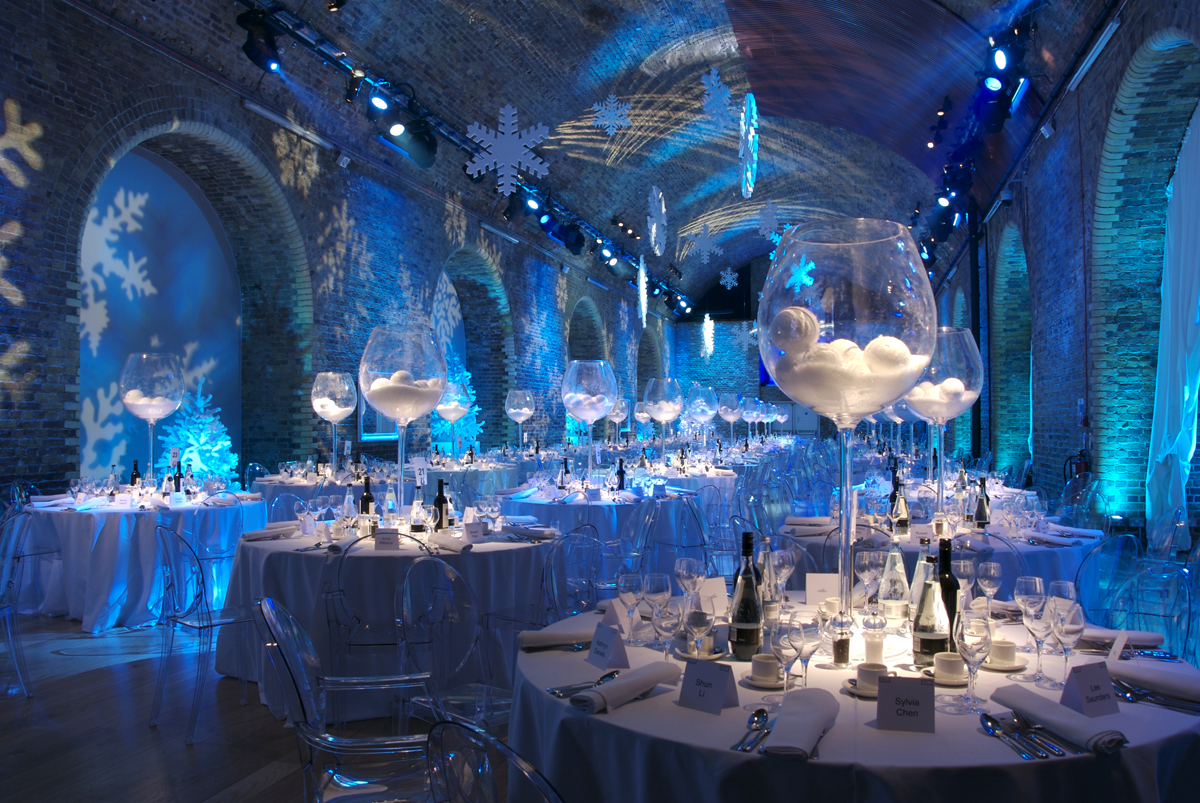 Christmas Party  Gala Dinner  Themed Events  The Events