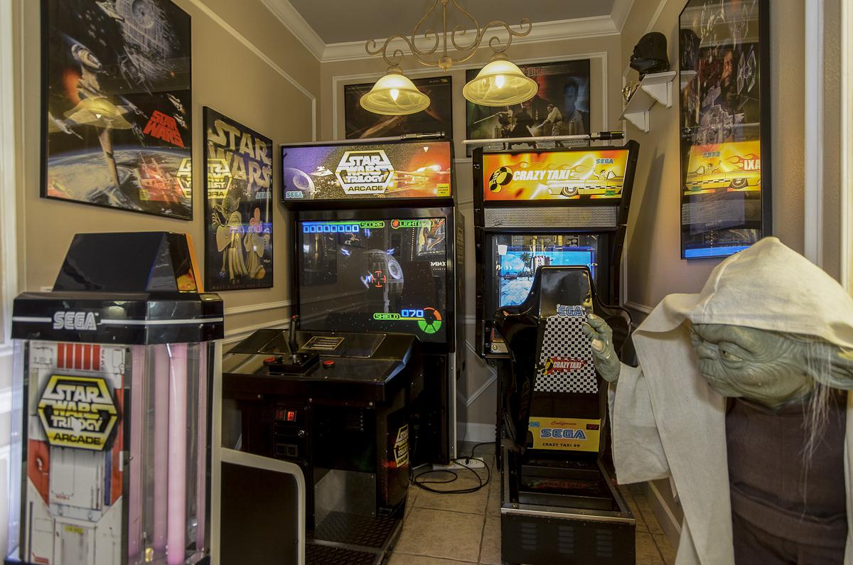 The Ever After Estate  Orlando Vacation Rental  Arcade