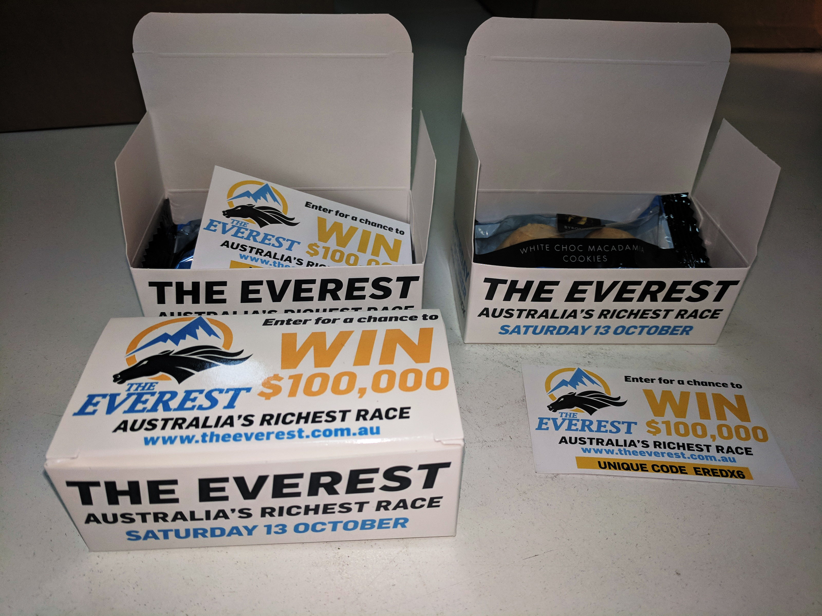 WIN $100,000 WITH THE EVEREST