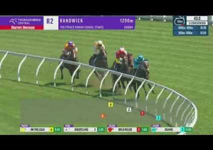 2020 Polytrack Roman Consul Stakes - Randwick - Wild Ruler (G2)