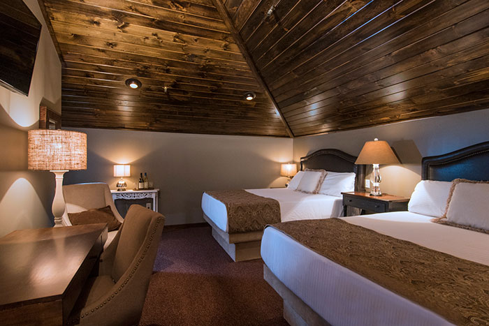 Suite with two queensized beds  The Everett Hotel