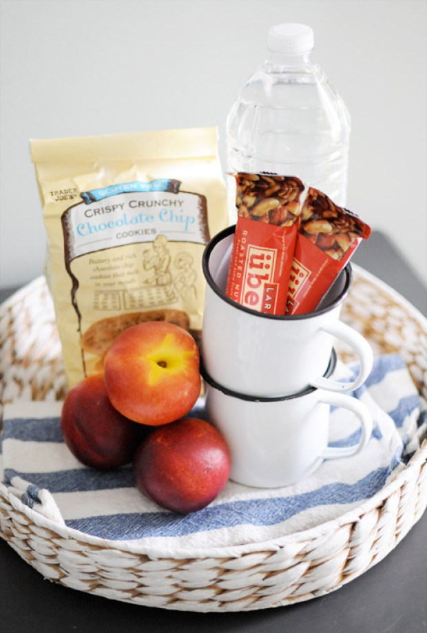The Everyday Hostess Guest Snacks