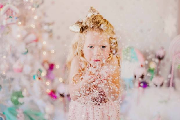 Gold Dust Vintage Christmas Set up 5
