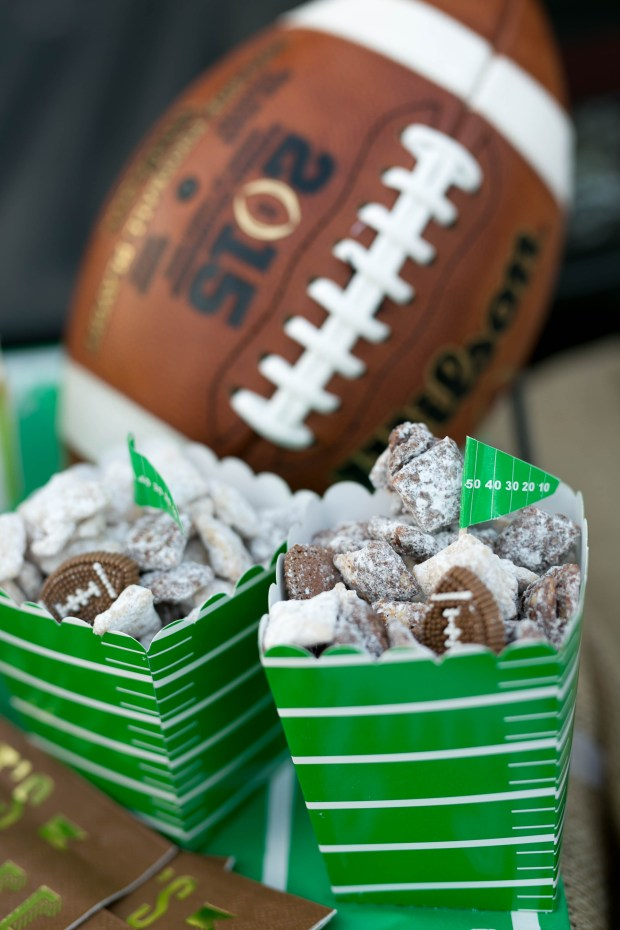 The Everyday Hostess Football Puppy Chow