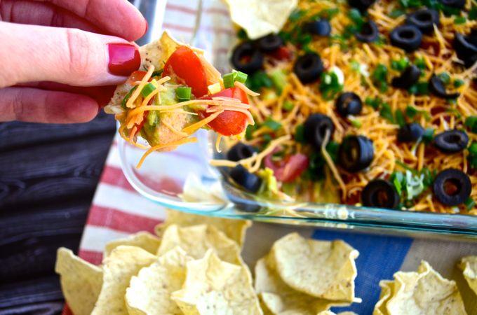 Easy 7-Layer Taco Dip
