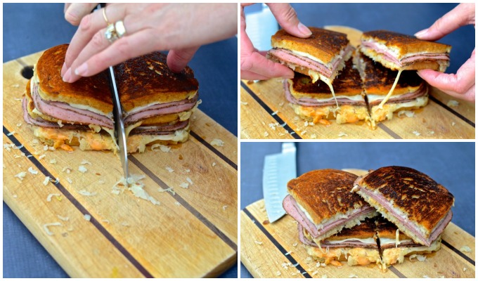A Pastrami Reuben, in honor of St. Patrick's Day - at www.mybottomlessboyfriend.com