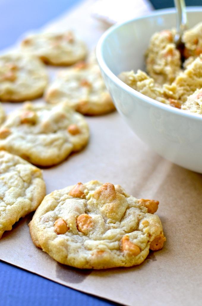 Easy Butterscotch Cookies - get the recipe at www.mybottomlessboyfriend.com