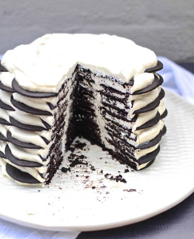 Icebox cake recipe with chocolate wafers