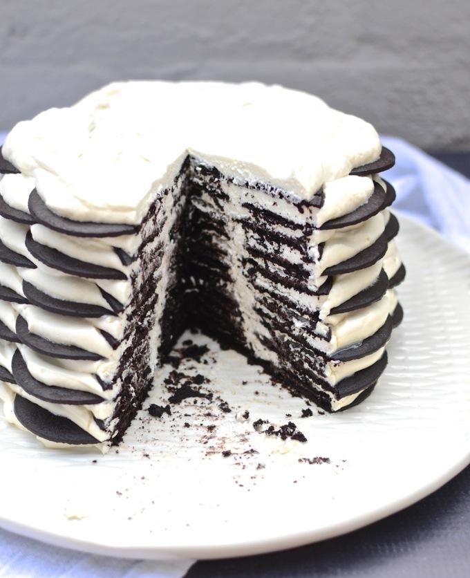 Icebox cake recipe with chocolate wafers