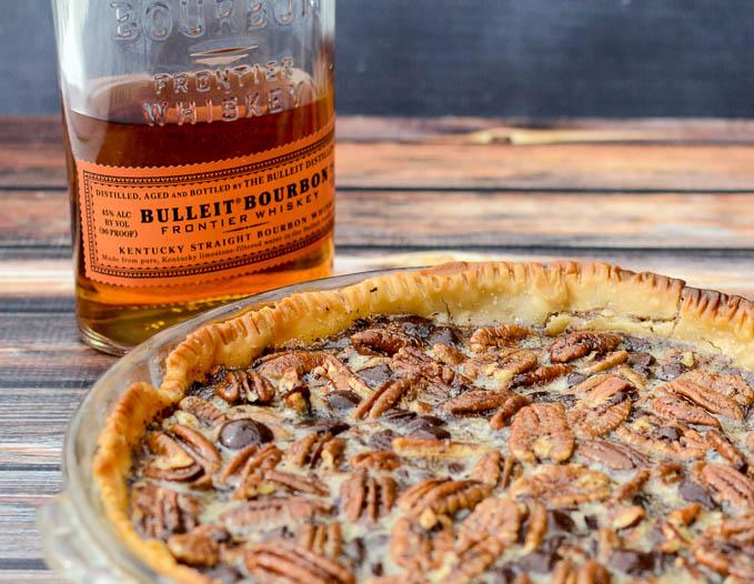 The BEST pie is Dark Chocolate Bourbon Pecan Pie | www.mybottomlessboyfriend.com