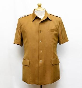 The Exclusive Tailor Mal Ambasador Jakarta, jual tekstile dan jahit baju seragam kerja hingga safari. Telp: 021-5793-1021