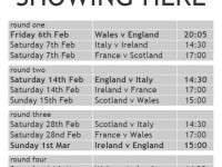 2015 Six Nations fixtures shown live at The Exhibition ...