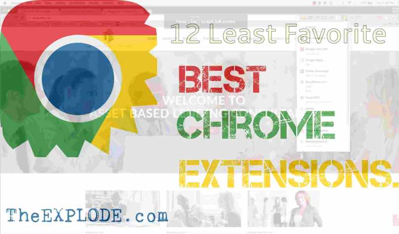 best chrome extensions-theexplode