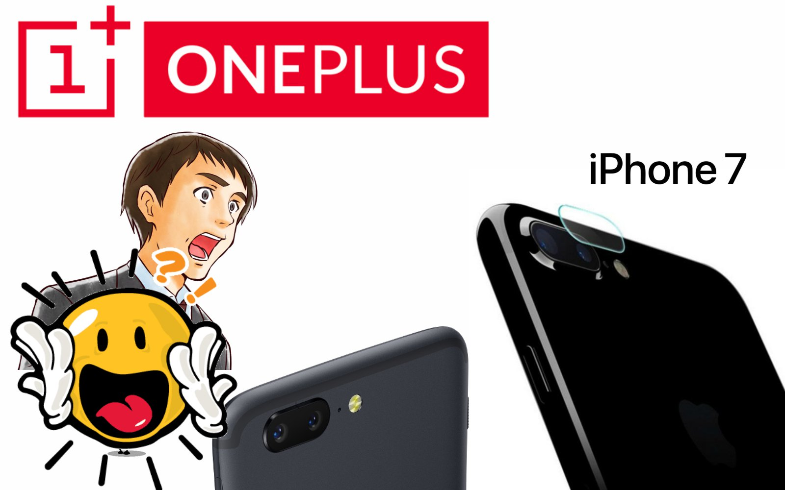 One Plus 5 is the first phone to beats the iPhone in terms of speed.