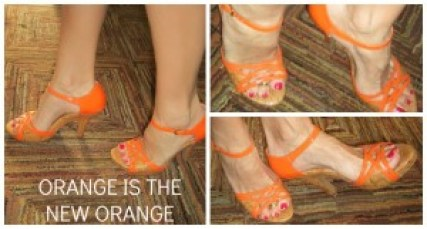 Fun Shoes: Orange Is The New Orange