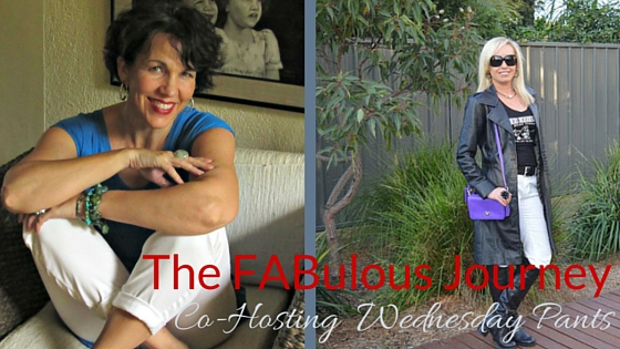 The FABulous Journey: Co-hosting Wednesday Pants