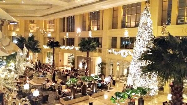 Christmas Traditions - Peninsula Hotel, Manila