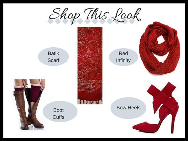 Shop This Look - Red Accessories