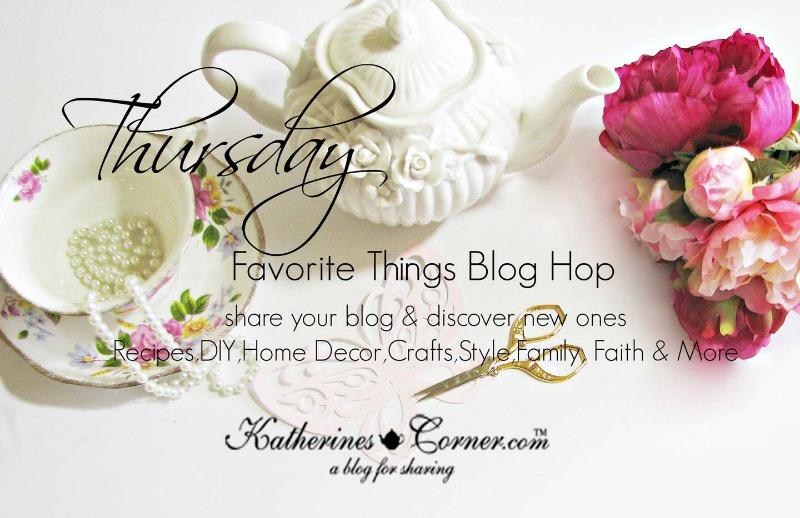 thursday favorite things blog hop image 2016