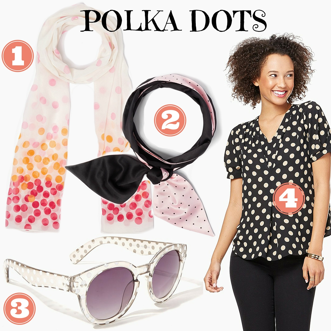 polka dots for Spring - Favorite Things