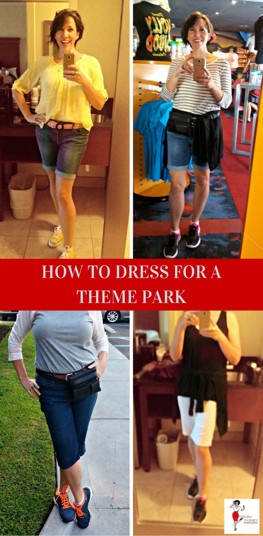 dress for a theme park