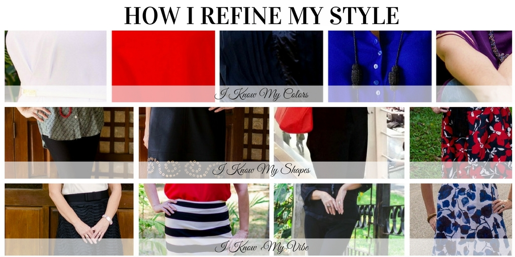 how I refine my style