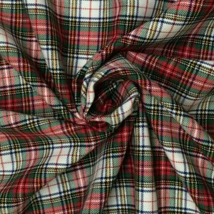 Victoria Tartan Brushed Cotton
