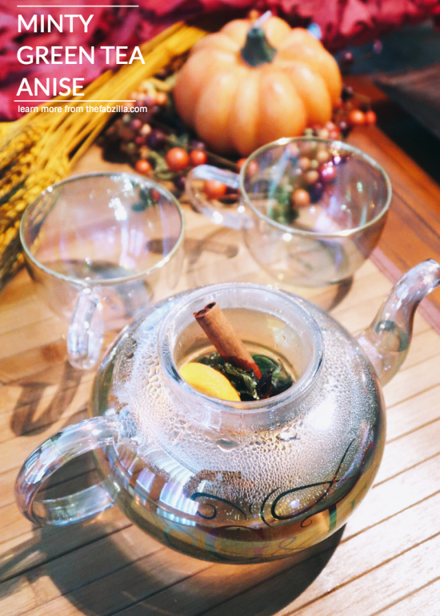 Thanksgiving Tea Recipe Minty Green Tea Anise