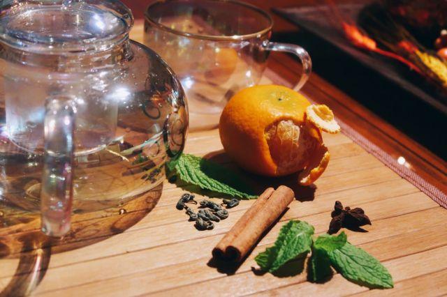 Minty Green Tea Anise Thanksgiving Tea Recipe