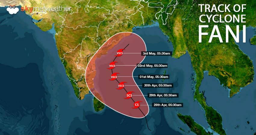 Cyclone Fani: Warning put up at all ports in Odisha