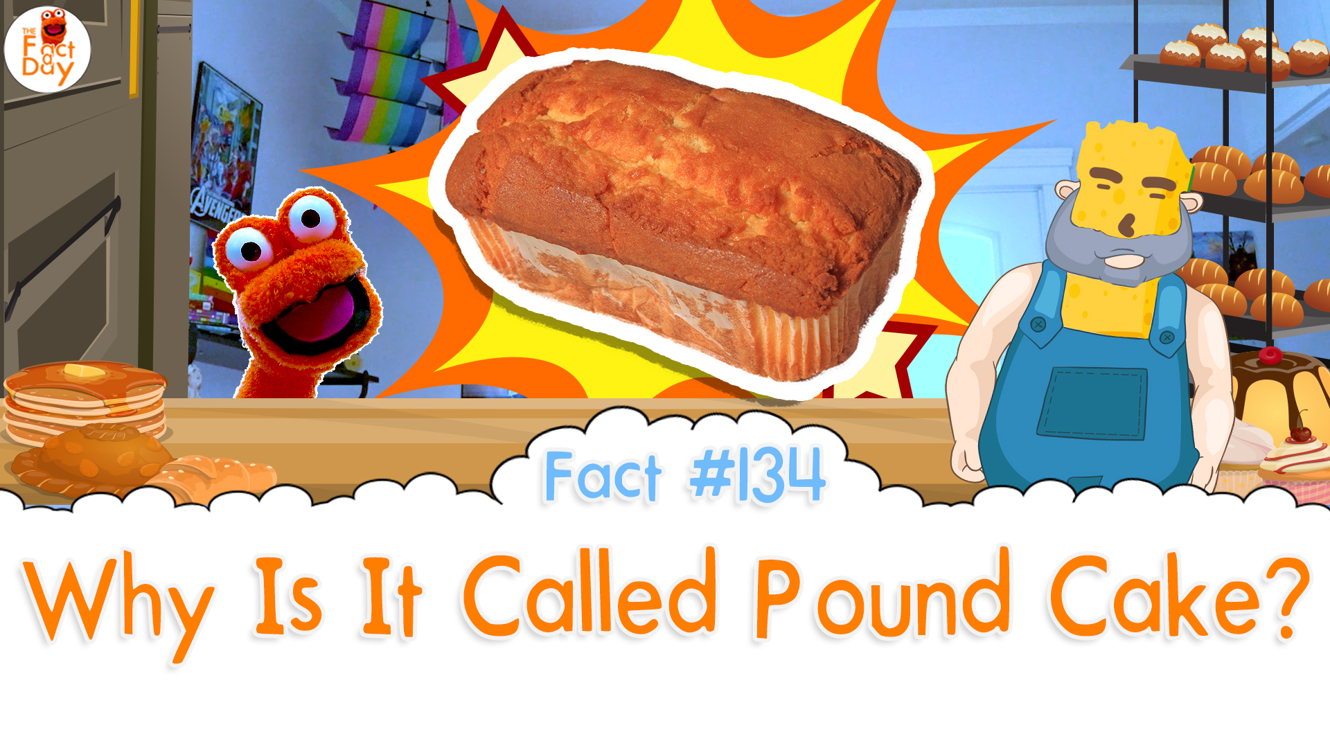 The Fact a Day - Why is it called pound cake