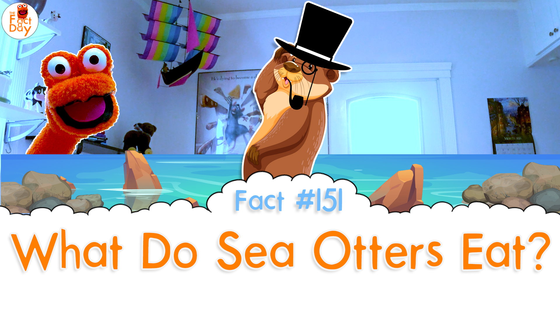 The Fact a Day - What do sea otters eat