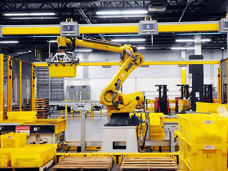 The Amazon's robot workers skyrocketed in less than five years.