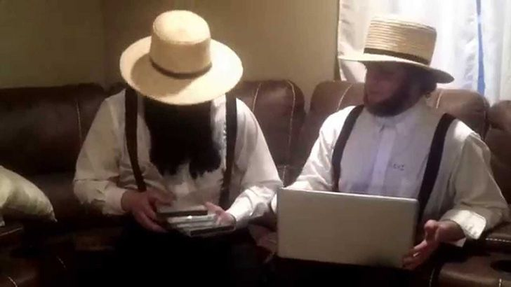 There are Amish computers.