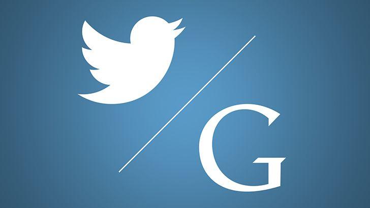 Googles first tweet was gibberish.