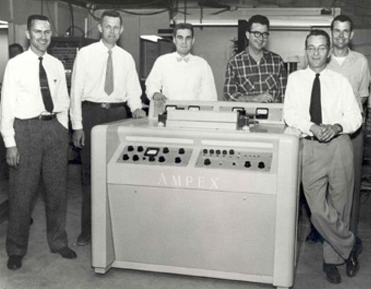 The first ever VCR was HUGE.