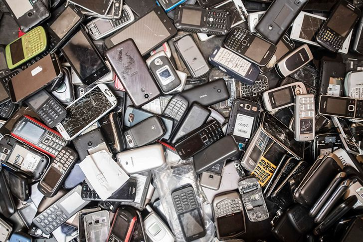 Millions of tons of technology are thrown out each year.
