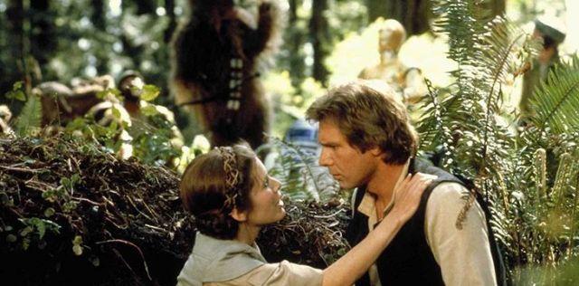 Han Solo was married when he met Leia.
