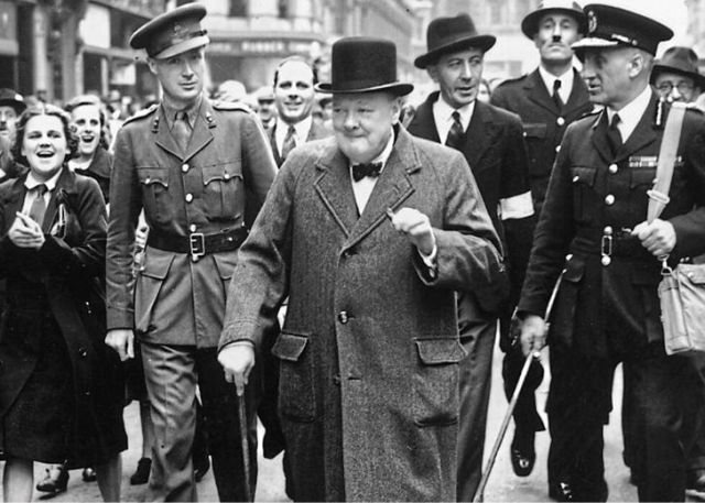 Winston Churchill was a man of his vices