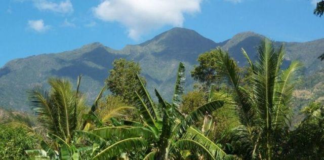 Cuba's tallest peak at Pica Turquino.